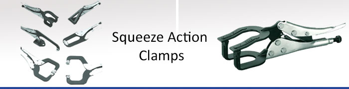 squeeze-action-clamps